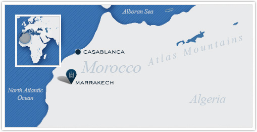 Leading Hotels of the World_Morocco Map